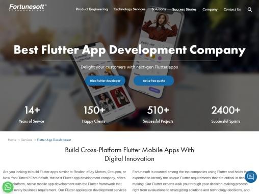 Flutter App Development Company   Flutter Application Development