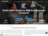 Kotlin App Development Company   Kotlin App Development Services