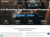 Live Streaming App Development Company   Video Streaming App