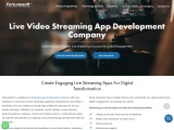 Live Streaming App Development Company | Video Streaming App