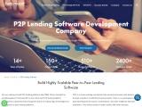 P2P Lending Software Development Services | P2P Lending App Developers