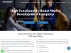 React Native App Development Company | Hire  App Developer
