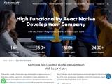 React Native App Development Company   Hire  App Developer