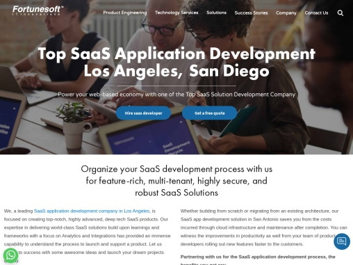 Top SaaS Application Development Company in Los Angeles   USA