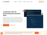 ForwardAI Precise – An API To Get Real Time & Forward Looking Business Data