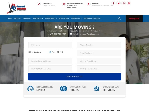Fort Lauderdale Movers   Fort Lauderdale Moving Company