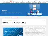 Cost of the Solar System in Hyderabad | Four Solar