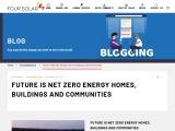 Future is Net Zero Energy Homes, Buildings and Communities