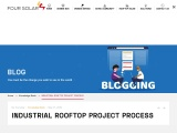 Industrial Rooftop Project Process | Four Solar | Industrial Rooftop Solar Power Plant in Hyderabad