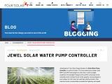 Four Solar | Jewel Solar Water Pump Controller | Git to Farmers