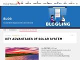 Four Solar | Key Advantages of Solar System | Solar Power in Hyderabad