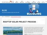 Four Solar| Rooftop Solar Project Process |Rooftop Photovoltaic System in Hyderabad