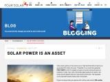 Four Solar | Solar Power System in Hyderabad | Solar Power Is an Asset