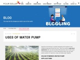 Four Solar | Solar Powered Water Pump Applications in Hyderabad