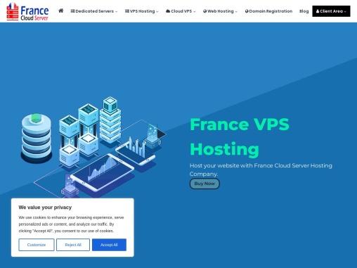 Affordable France VPS Server by Onlive Server