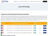 Best France Linux VPS Hosting with Amazing Benefits