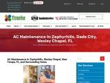 AC Maintenance in Wesley Chapel