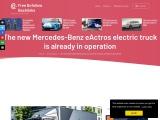The new Mercedes-Benz eActros with 400 kilometres of autonomy