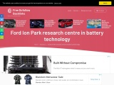 Ford Ion Park research centre in battery technology