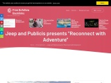 """Jeep and Publicis presents """"Reconnect with Adventure"""""""