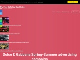 Dolce & Gabbana Spring Summer advertising campaign