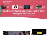 How Barack Obama has a luxurious life