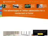 The advantages of Teflon tablecloths