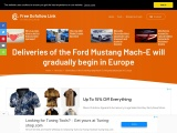 Deliveries of the Ford Mustang Mach-E started in Europe