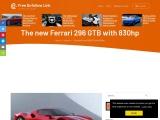 The new Ferrari 296 GTB sports car