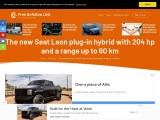 The new Seat Leon plug-in hybrid with a range up to 60 km