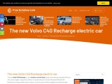 The new Volvo C40 Recharge electric SUV