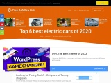 Top 6 best electric cars of 2020