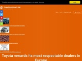 Toyota rewards its most respectable dealers in Europe
