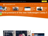 World premiere of Volkswagen Caddy Family