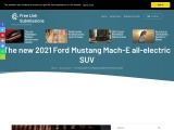 2021 Ford Mustang Mach-E all-electric SUV