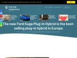 The new Ford Kuga Plug-in Hybrid in Europe