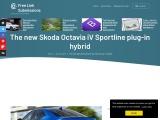 The new Skoda Octavia iV Sportline
