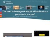 The new Volkswagen Caddy is a great camper van