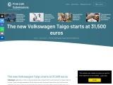 The new Volkswagen Taigo has a starting price of 31,500 euros