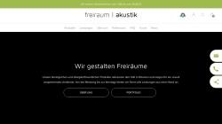 www.freiraumakustik.de Vorschau, freiraum Akustik