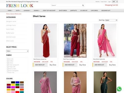 Few draped saree I would suggest, while draping a Dhoti Saree, Pant Saree, Palazzo Saree