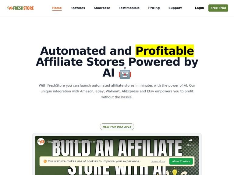 Fresh Store Builder v6 screenshot