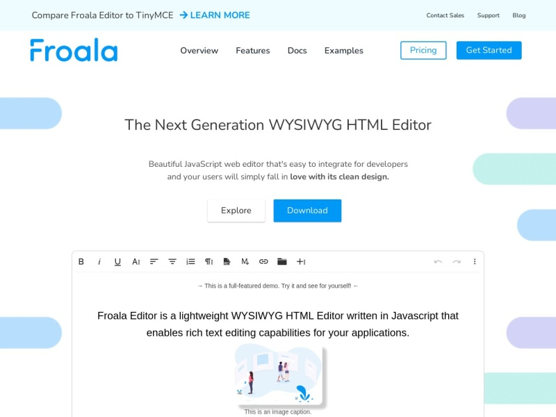 Froala Editor Beautiful WYSIWYG HTML Editor | Javascript で動くリッチエディター