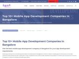 best mobile app development companies in bangalore