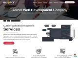 Custom Web Development Services in India – Fullestop