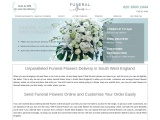 Funeral Flowers South West England