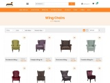 Buy Wing Chair Online At Best Prices in India – Furniture Adda