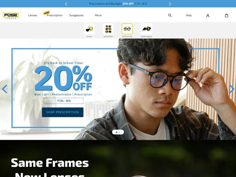 Fuse Lenses screenshot
