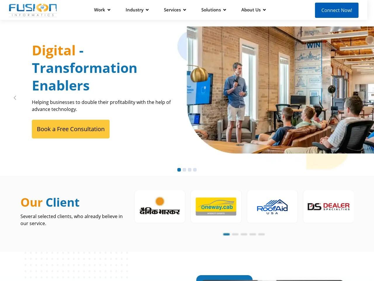 Ethereum application development | Fusion Informatics
