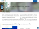 IoT development services   Fusion Informatics